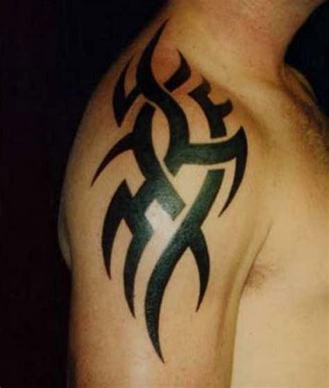 tribal shoulder tattoo 52 most eye catching tribal tattoos
