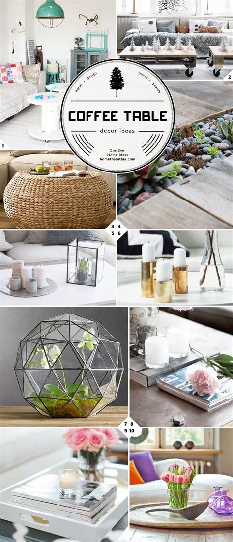 Creative Table Decorations by Creative Coffee Table Decor Ideas Home Tree Atlas