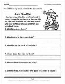 Reading comprehension worksheets for grade 2 reocurent