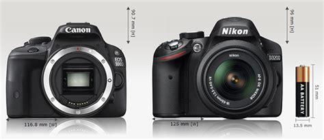 Kamera Canon 600d Vs 700d canon 100d vs nikon d3200 duel kamera dslr mungil untuk