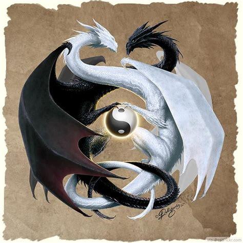 Yin Yang Dragon Tattoo | 30 cool yin yang tattoos perfect designs ideas bestpickr