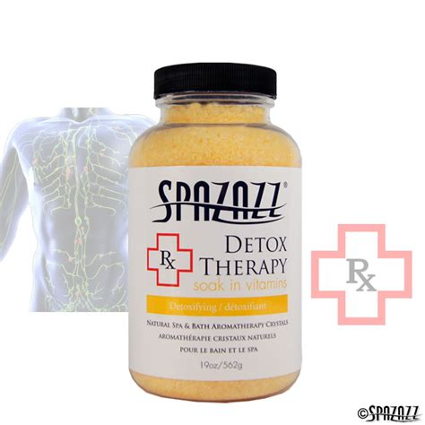 Detox Therapy by Spazazz Rx Detox Therapy Detoxifying Crystals 19oz