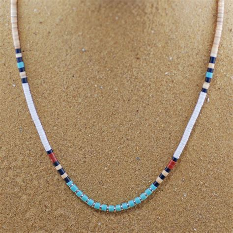 indian beaded necklace heshi style american beaded necklace happy