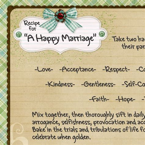 marriage recipe quotes for a recipe for a marriage quotes quotesgram