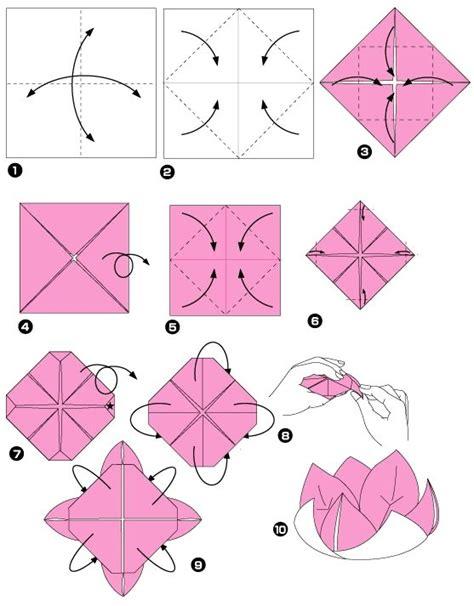 Fleur Origami - fleur de nenuphar origami lotus and origami