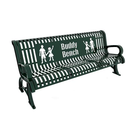 paris park bench paris 6 ft green premium buddy bench 460 332 0005 the