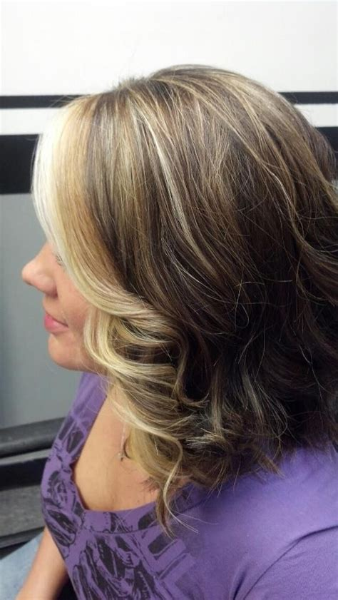 only front highlights blonde highlight front only 25 best ideas about front