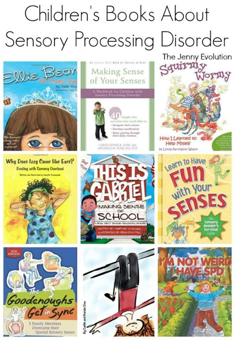 picture books with sensory details picture books about sensory processing disorder