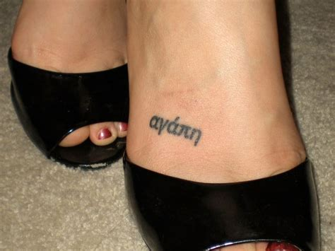 foot tattoo designs with words foot name ideas