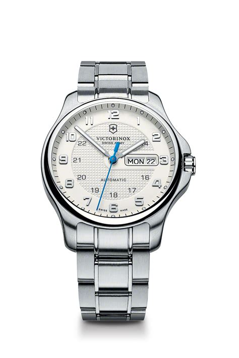Swiss Army Sa037m Date On swiss army officers day date mechanical