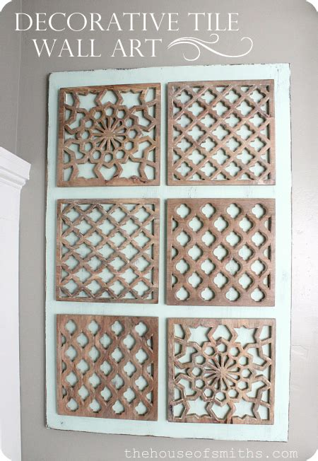 Diy Decorative Tile Wall Art Wall Decor Tiles