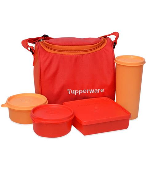 Tupperware Lunch Box tupperware plastic lunch boxes with lunch bag set