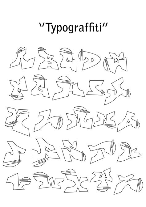 tattoo huruf abjad gambar graffiti alphabet collection drawing bagi teman2