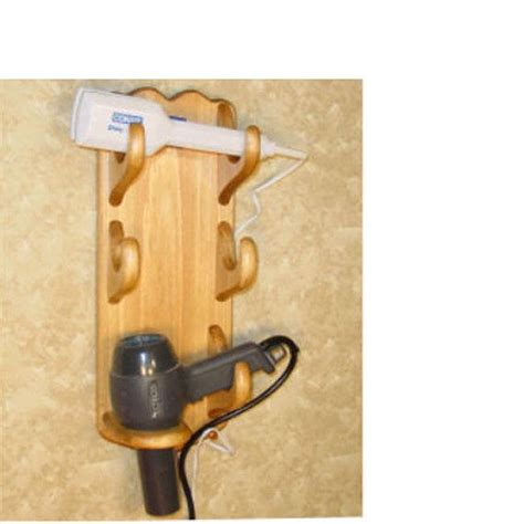 Hair Dryer And Flat Iron Holder Wall Mount wall mount hair dryer caddy flat iron holder curling iron
