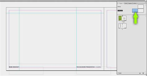 indesign creating a master page indesign why use it visualizing architecture