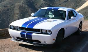 White And Blue Dodge Challenger 187 Dodge Challenger Review