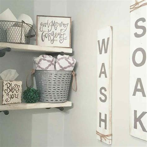 fashion bathroom decor the images collection of organization farmhouse style