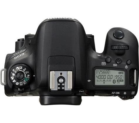 Promo Canon Eos 77d Only Kamera Dslr canon eos 77d dslr black only deals pc world