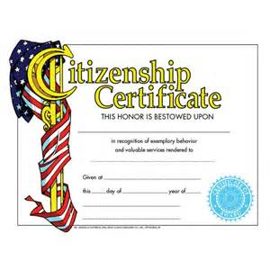 search results for citizenship awards template