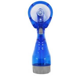 handheld misting fan held portable battery misting spray water cooling fan bottle office ebay