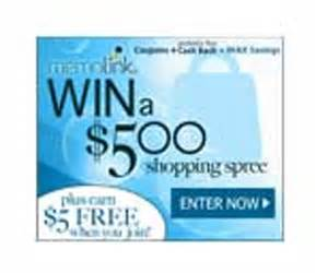 Free Shopping Spree Giveaway - memolink 500 shopping spree giveaway shareyourfreebies