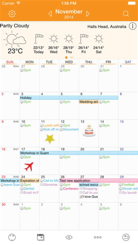 Awesome Calendar Awesome Calendar Lite Personal Planner App Report On