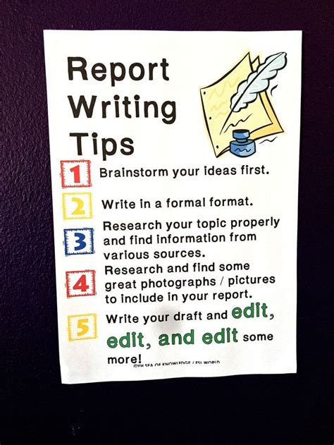 best 25 report writing ideas on information