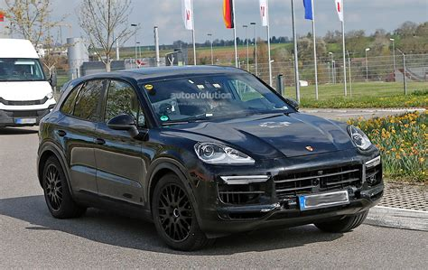 interior porsche cayenne 2018 porsche cayenne interior revealed gets larger