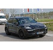 2018 Porsche Cayenne Interior Revealed Gets Larger