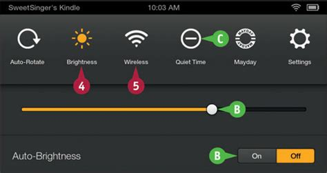 quick settings   fire tablet dummies