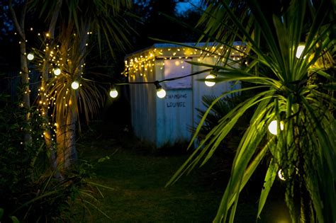 backyard fairy lights festoon party lights 10m warm white led