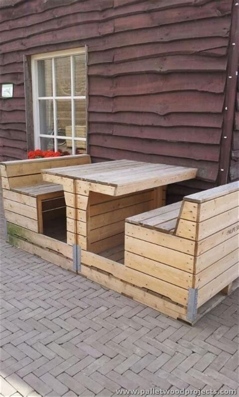 From Pallets by Things To Do With Recycled Pallets Pallet Wood Projects