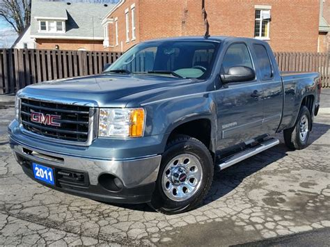 2011 gmc 4x4 2011 gmc 1500 sl nevada edition ext cab 4x4 4 8 ltr