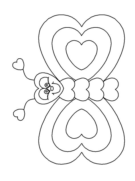 free coloring pages of cute butterfly