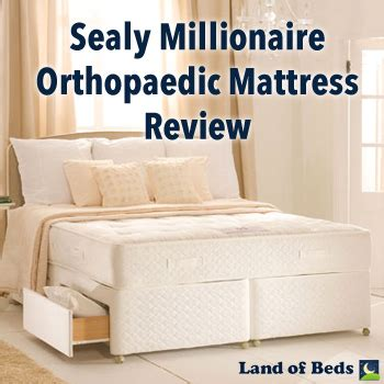 Millionaire Ortho Mattress by Land Of Beds 2014 June
