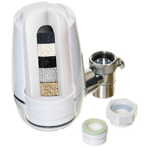 Faucet Mounted Water Filter by Ispring Littlewell Faucet Mount Water Filter With Multi