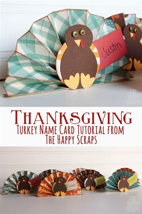 printable thanksgiving name card ideas thanksgiving turkey name card tutorial learn how to make