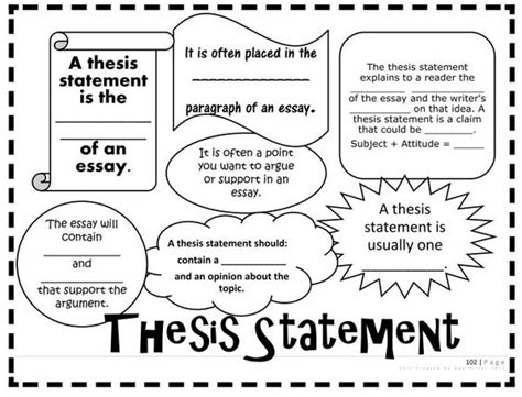 sles of thesis statement thesis statement carl hiaasen and teaching materials on