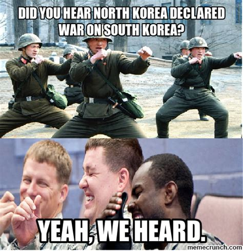 Korea Meme - nationstates view topic north korea might go to war