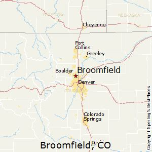broomfield colorado map best places to live in broomfield colorado