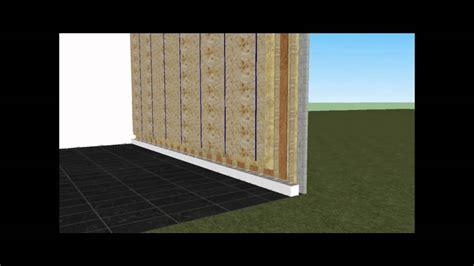 skeletbouw tuinhuis houtskelet dopen opbouw youtube