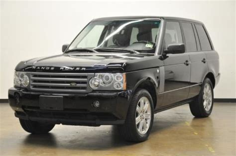 find   range rover hse  owners  maintenance records cleanest rover