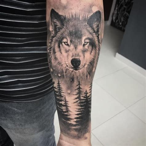 95 best tribal lone wolf tattoo designs amp meanings 2018