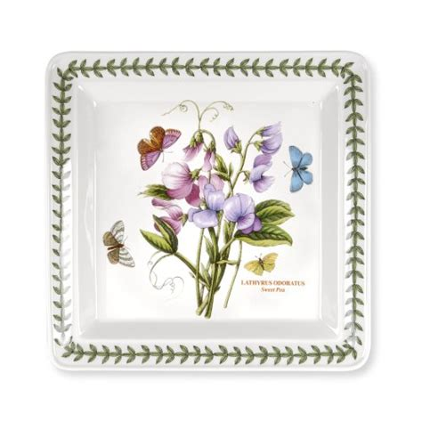 Cheap Portmeirion Botanic Garden Portmeirion Botanic Garden Square Dinner Plates 10 5 Set Of 6 Prices Smart Water New