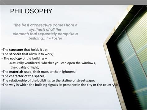 Interior Design Philosophy Exles by Hi Tech Architecture And Its Pioneering Architects