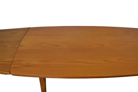 mid century teak table l mid century teak extendable dining table by chr l larsen