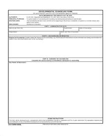 usmc orm template sle army counseling form 7 exles in word pdf