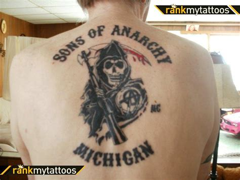 sons of anarchy tattoos rwe sons of anarchy tattoos q a with cast crew