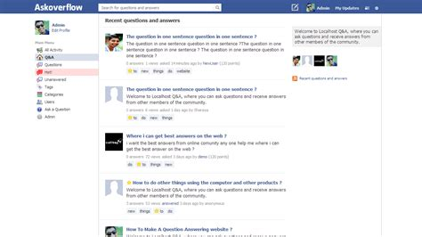 New Themes On Facebook | new free theme facebook style theme question2answer q a