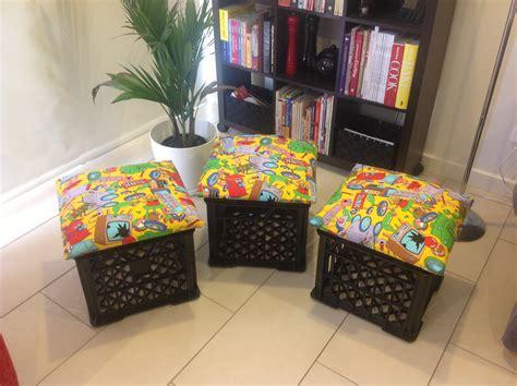 Bench Toy Storage Diy Milk Crate Seats Teacher On Training Wheels